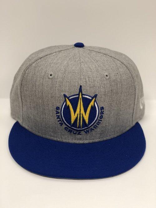 8f15ce91 New Era Primary Logo Snapback (Grey/Royal). 28.00. SCW California Hat . ...