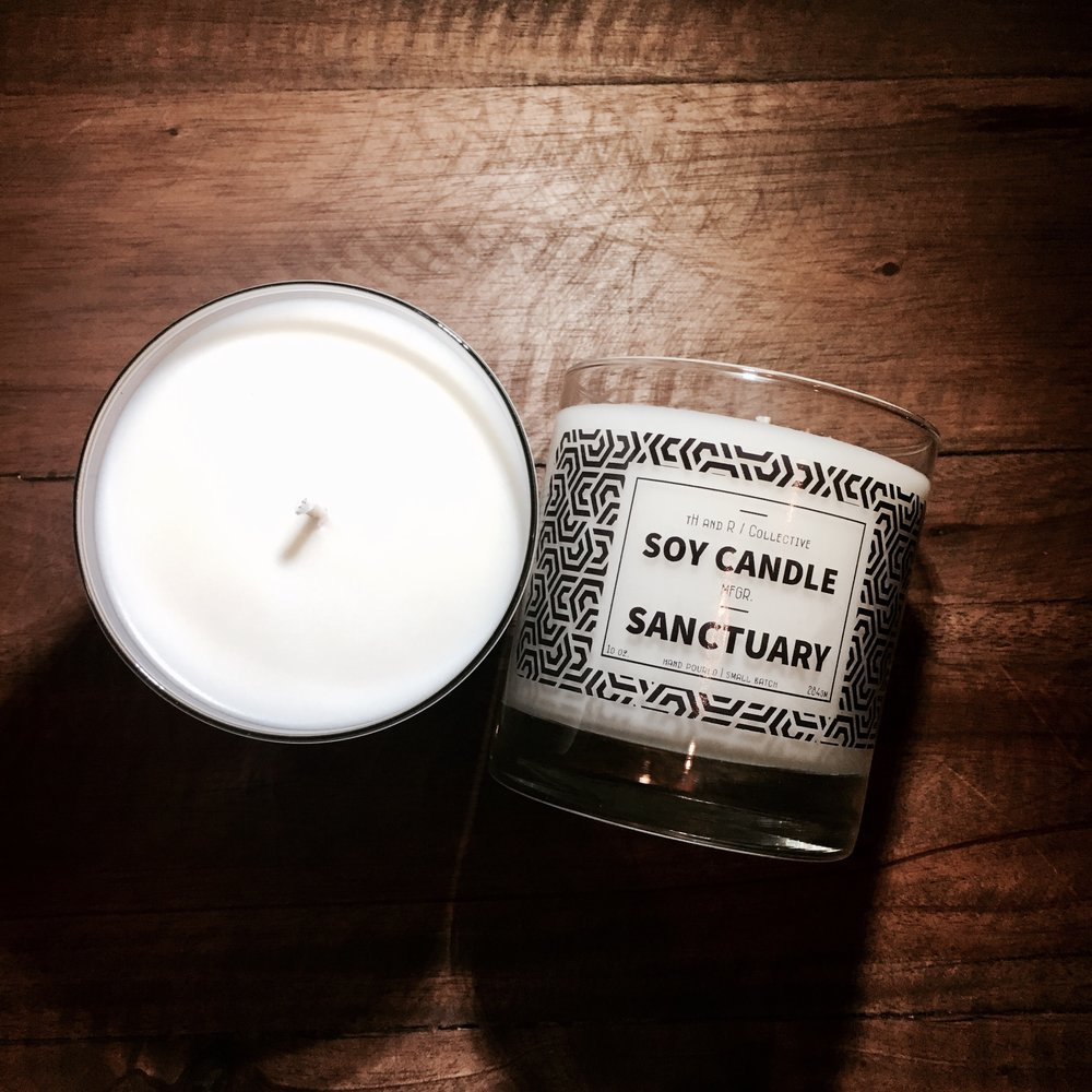 whiskey tumbler_soy wax candle