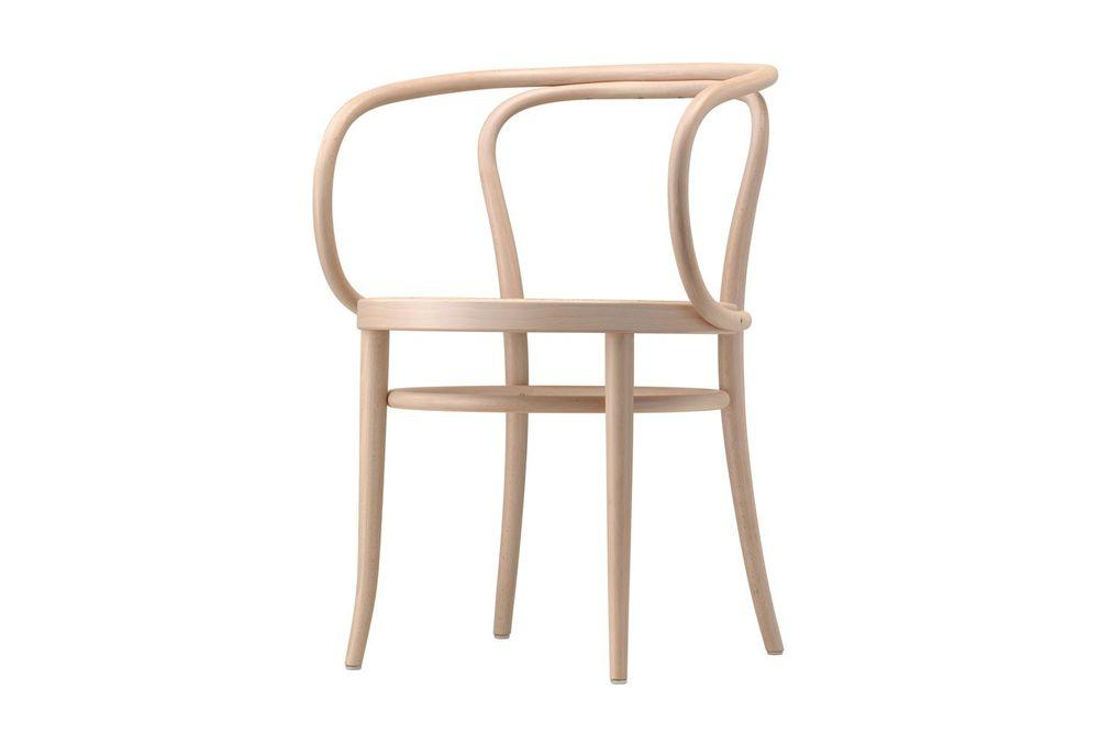 Sedia 209, la sedia di design disegnata da August Thonet è prodotta da Thonet. Tradizione e semplicità, linee morbidi ed essenziali.