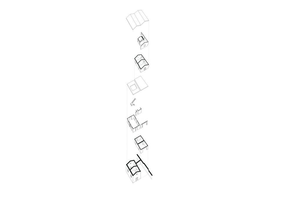 008 PARTI, ELEMENTI, RELAZIONI, FUNZIONI_assonometria edifici.jpg