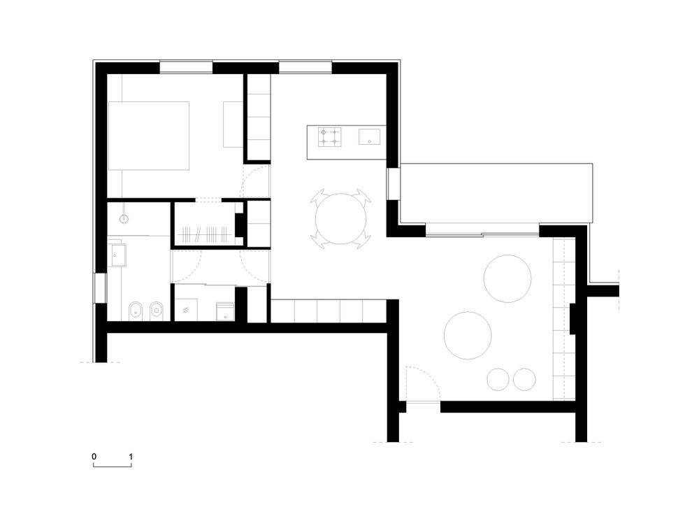 miniappartamento ag - planimetria