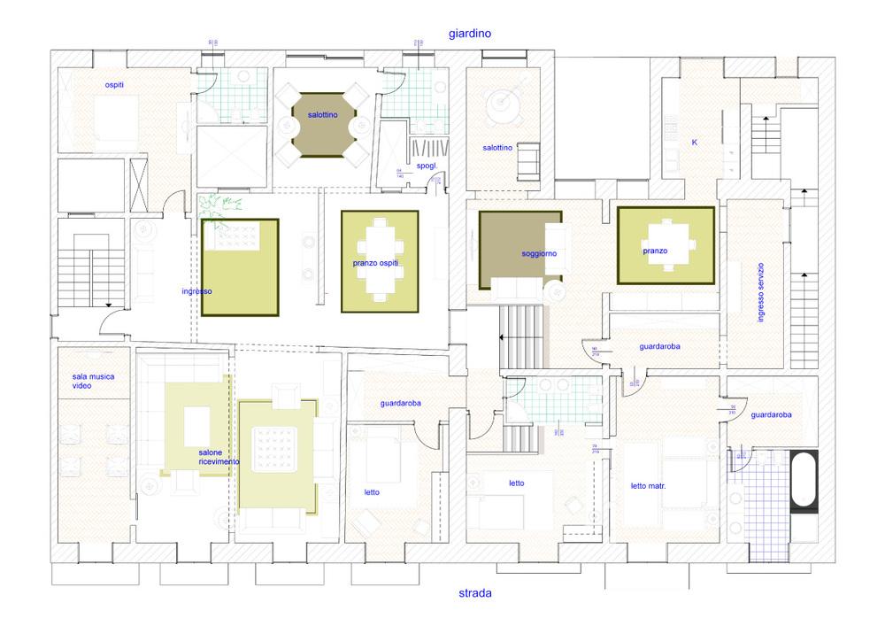 casa vs - planimetria