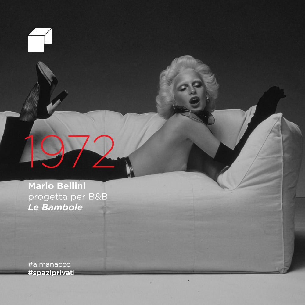 """Mario Bellini progetta per B&B """"Le Bambole"""""""