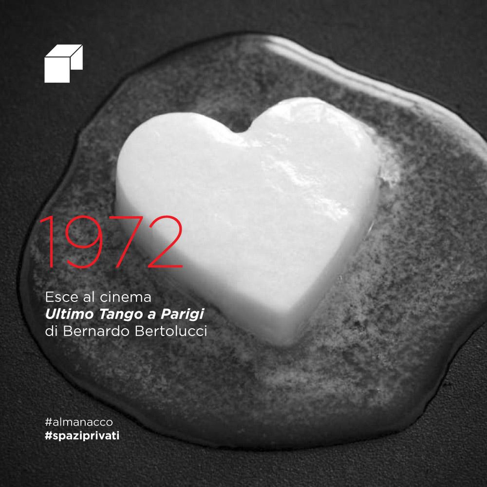 Esce al cinema Ultimo tango a Parigi di Bernardo Bertolucci
