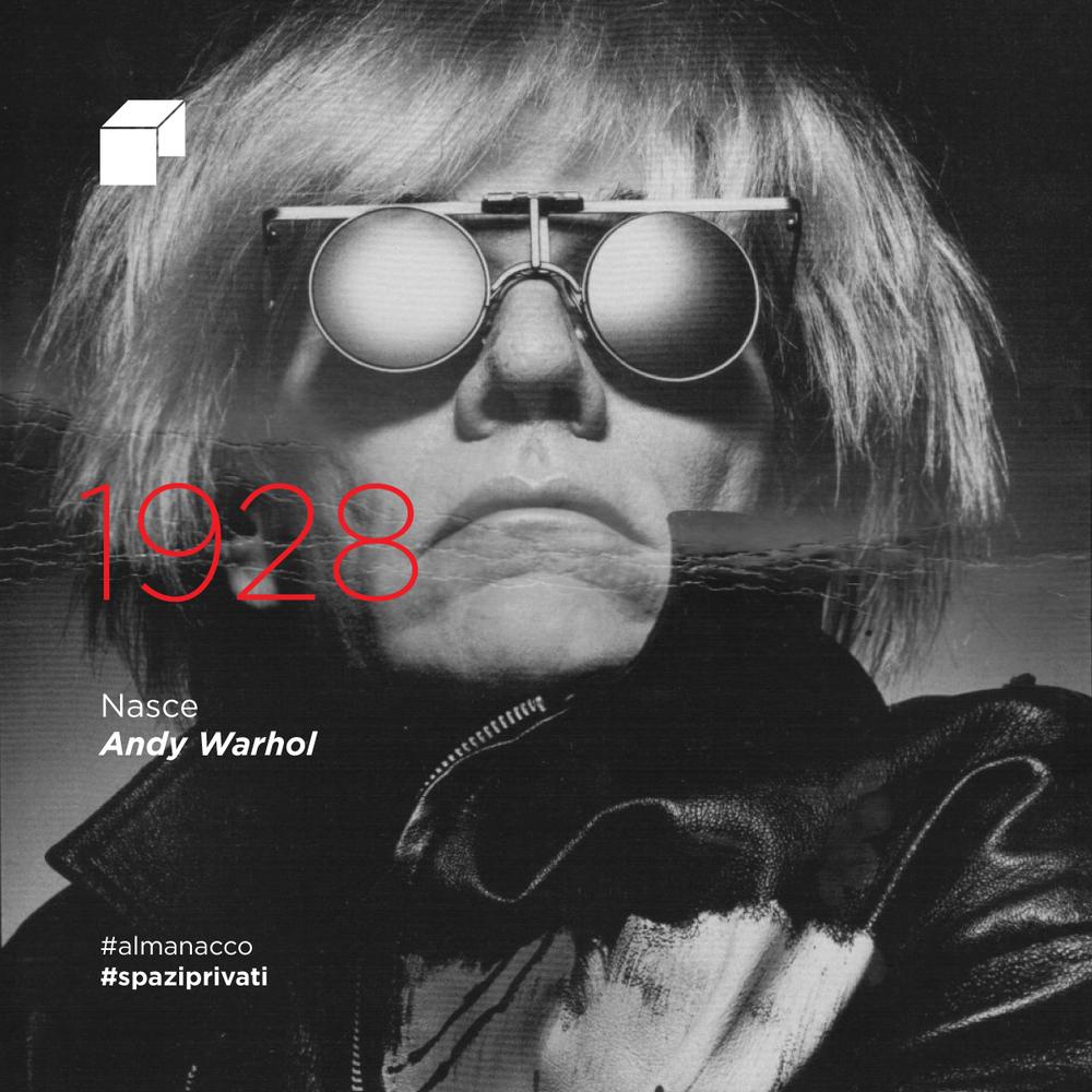 Nasce Andy Warhol