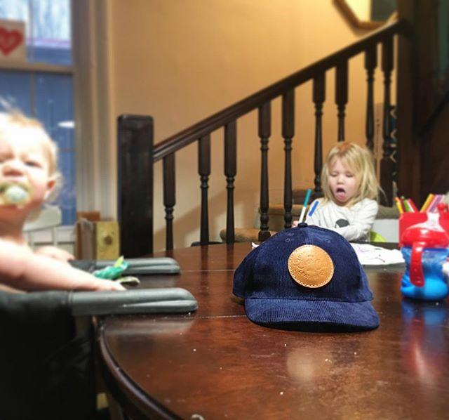 Navy Corduroy Dad Hats coming soon 👀