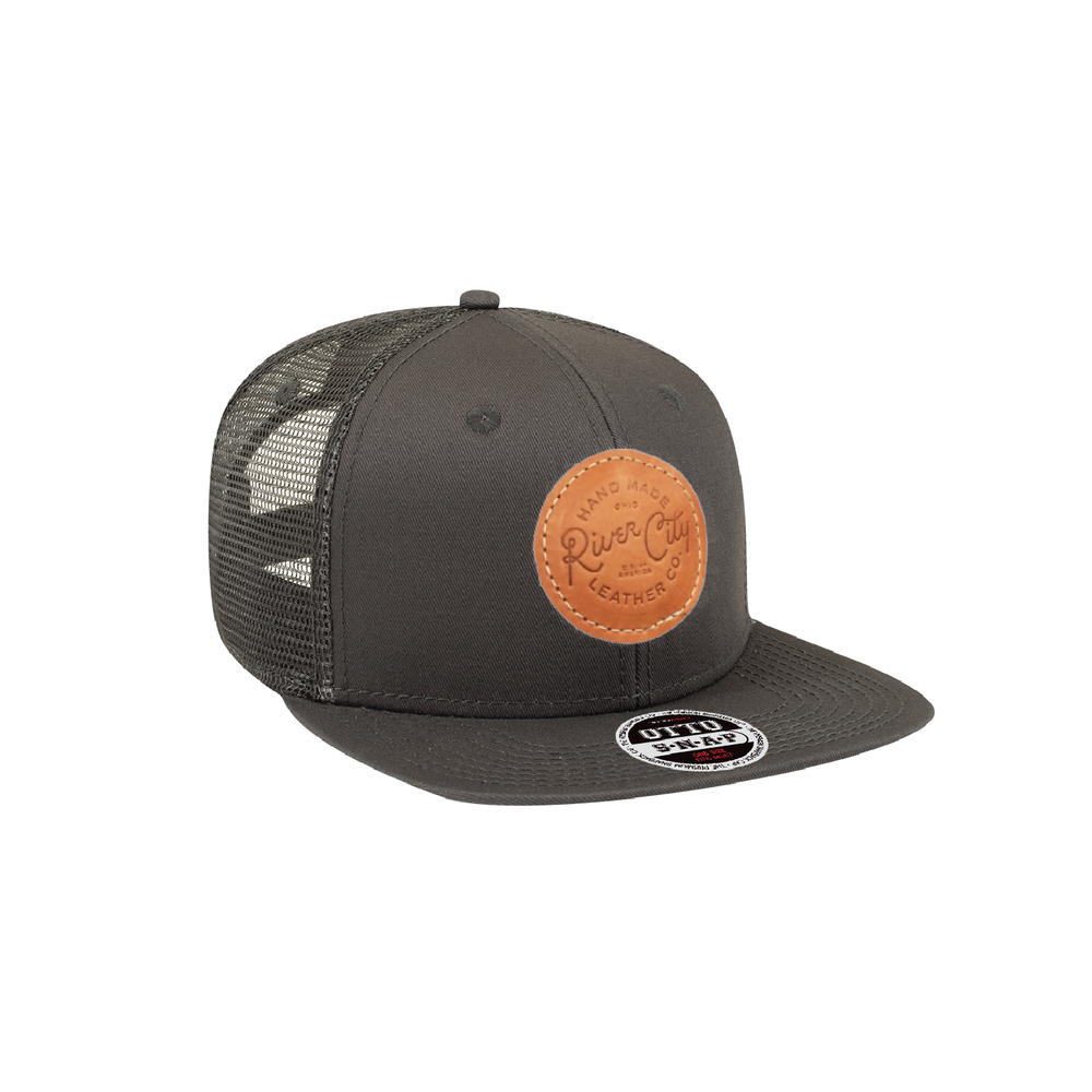 Cotton Twill Flat Bill Snapback -