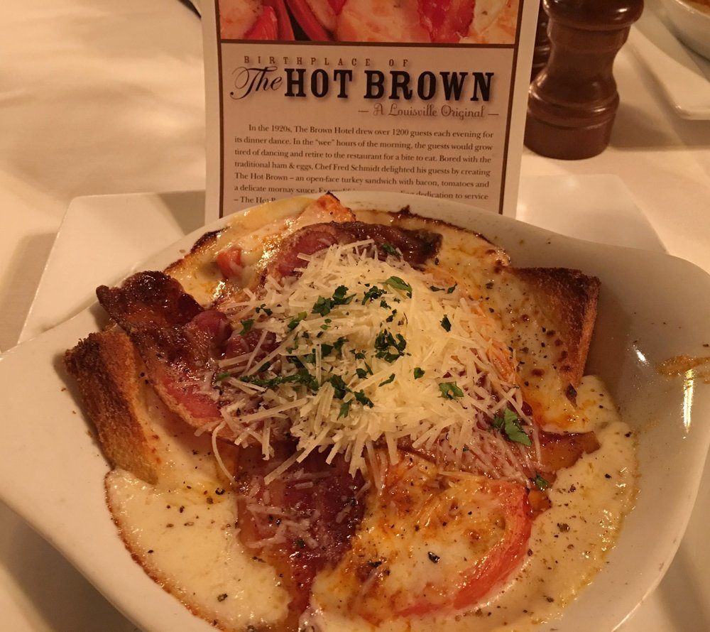 The Hot Brown.