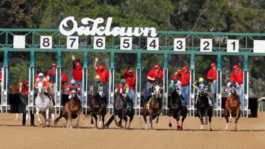 An Afternoon at Oaklawn Park
