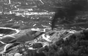 Infrared photo of Aliso Canyon gas leak