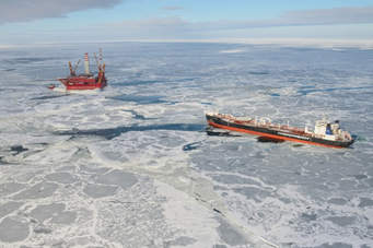 Oil operations in the Arctic