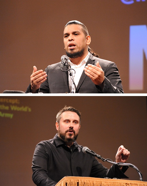 Immortal Technique and Jeremy Scahill