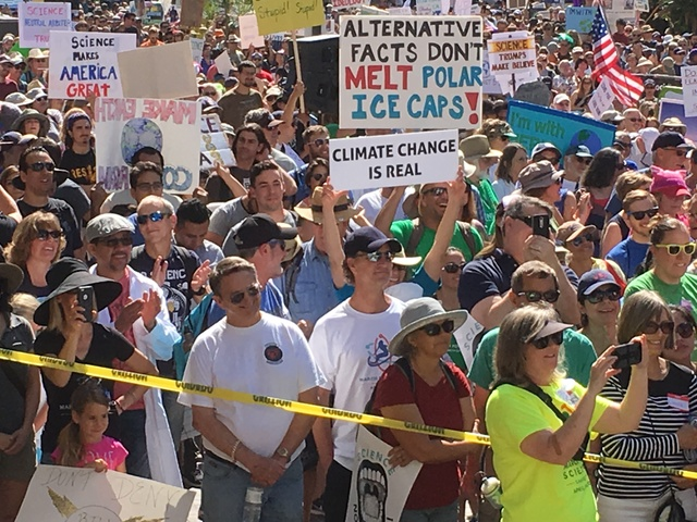 March for Science, San Diego