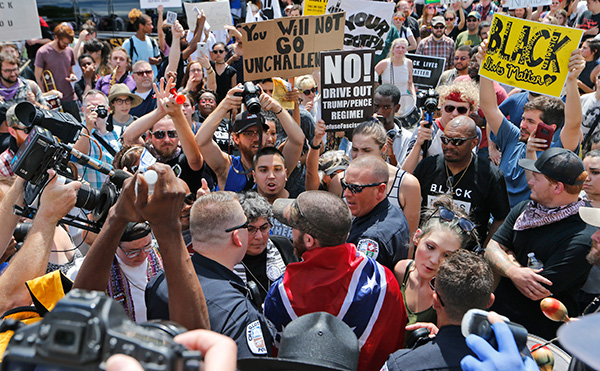 Confronting the Nazis in Charlottesville, August 12