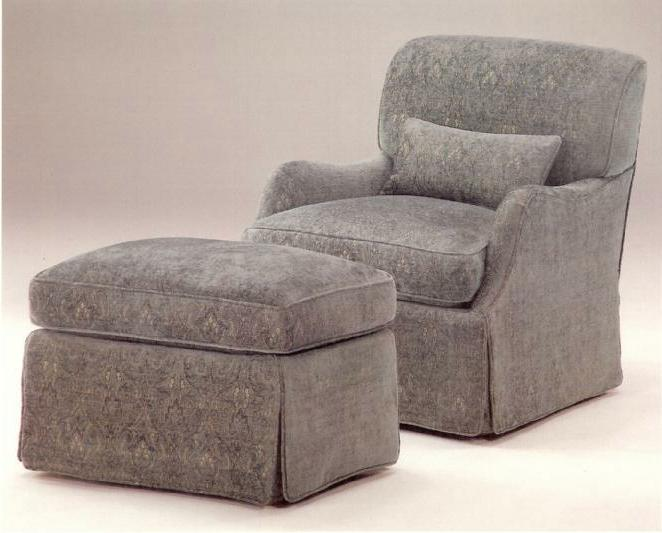660 chair & ottoman