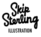 Skip Sterling Illustration