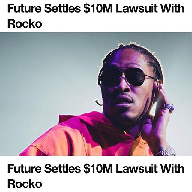 "It's been over a year since Atlanta rapper Rocko hit Future with a $10 million lawsuit, claiming he was cut out of a deal the rapper signed after discovering him.  Now, Future will have to pay up.  According to court documents, obtained by TMZ, both sides are asking for the case to be dismissed, as they've decided to settle out of court.  Details are unknown, and Future has not commented.  Rocko's legal team told TMZ their client is happy with a ""very successful result"". Rocko filed a $10 million lawsuit against Future in June 2016, in which he claimed he was cut out of a multi-million dollar deal with Epic Records.  Future countersued, claiming his deal with Rocko was never exclusive, and also claimed Rocko owed him money.  Ballerstatus.com #Future #Rocko #Lawsuit #Settlement #epic #freebandz #music #hiphop #legal #law #entertainment #news"