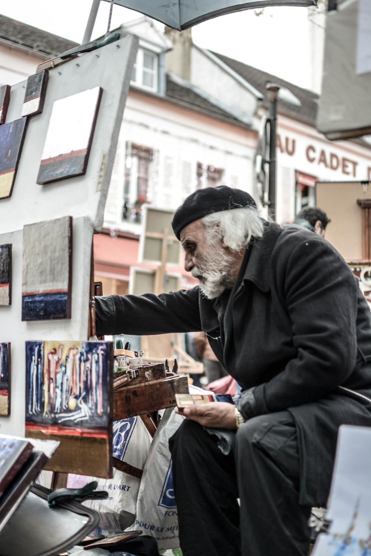 Aging Artist