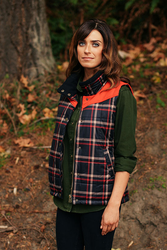 The Chelan Quilted Vest ($115) features a 100% Polyester Pendleton Signature Plaid Print, 2-layer construction with membrane backing, and Thermore® Rinnova (50% recycled) Insulation.