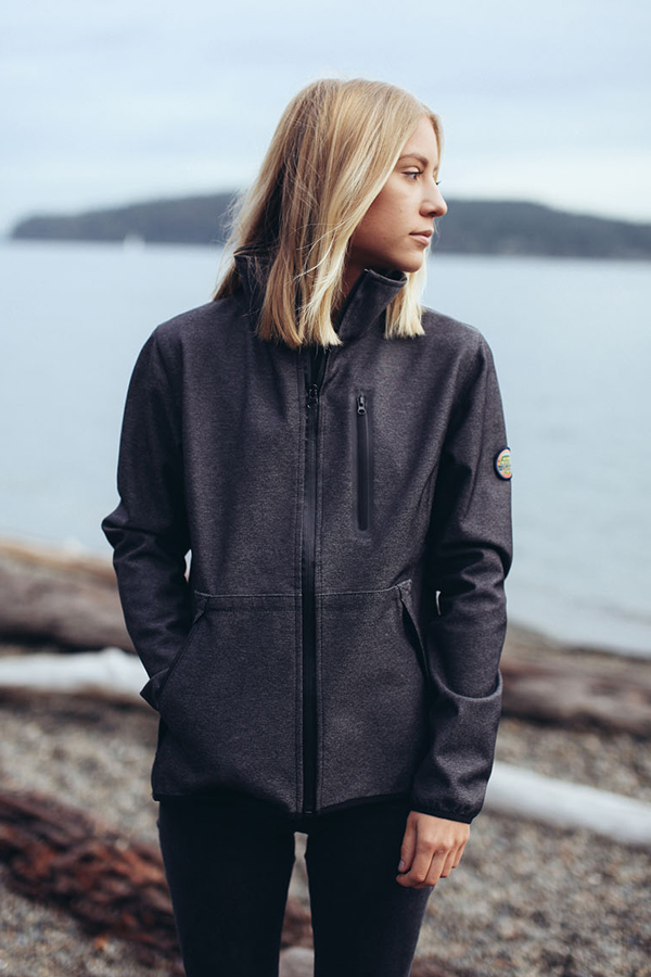 The  Glacier Soft Shell Jacket  ($120) offers waterproof and breathable 3-layer construction with 100% Polyester soft shell on the outside and brushed tricot-backed fleece on the inside. The Glacier is topped off with waterproof zippers and welded chest pockets.
