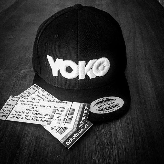 Only a few more days until we rock the stage at @hobchicago on Thurs Sept 8th for the @shoeshineboyproductions showcase! Hard tickets are almost gone, link to buy presale tickets with code YOKO in bio. #chicagomusic #livemusic #houseofblues #originalmusic #YOKOfosho #YOKO #snapback #swag