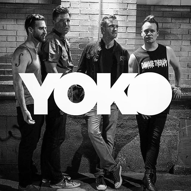 Will this photo show up on some new YOKO swag tomorrow night? Come find out at the @hobchicago tomorrow night when we play the @shoeshineboyproductions showcase. Thursday September 8th, doors open at 6:30! (PS - new music coming too.) #YOKOfosho #swag #chicagomusic #hobchicago #originalmusic