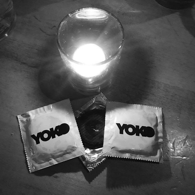 Always new swag for a YOKO show. The band might break up, but these should be good. See you tonight at @cubbybearwrigley for what could always be our last show. #YOKOfosho #chicagomusic #currentmood