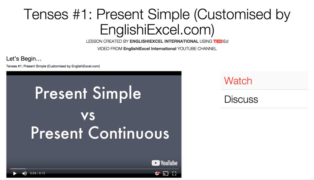 Unit 6: Tenses #1 - Present Simple vs Present Continuous