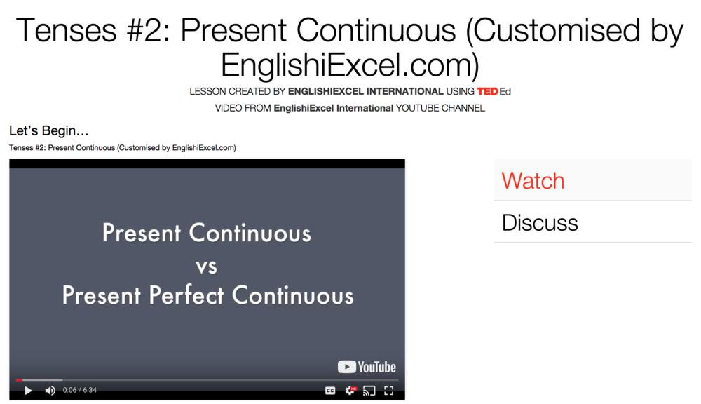 Unit 7: Tenses #2 - Present Continuous vs Present Perfect Continuous