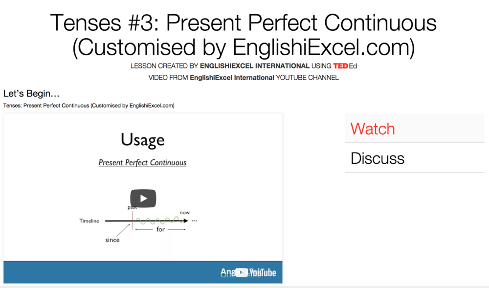 Unit 8: Tenses #3 - Present Perfect Continuous vs Present Perfect