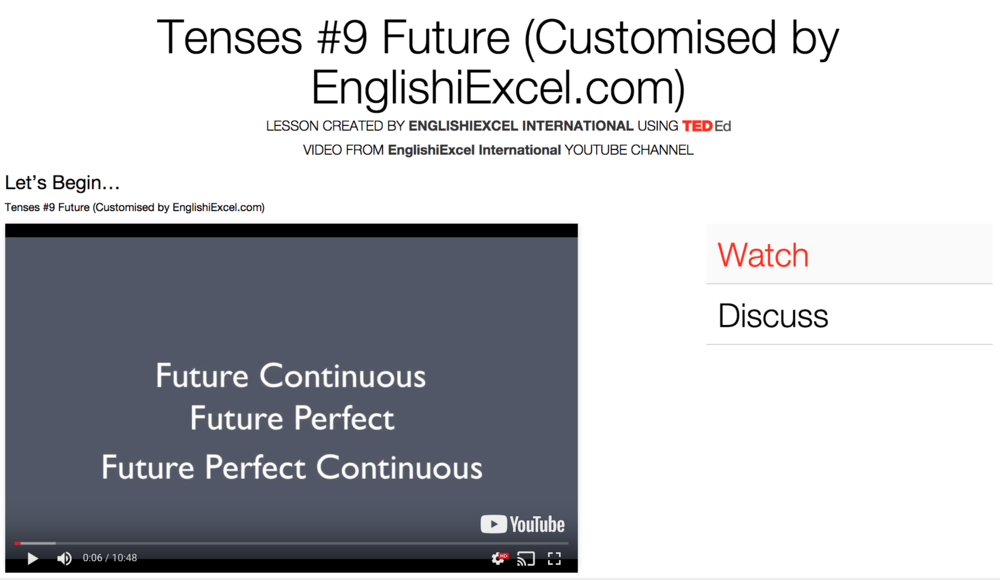 Unit 14: Tenses #9 - Future Continuous vs Future Perfect vs Future Perfect Continuous