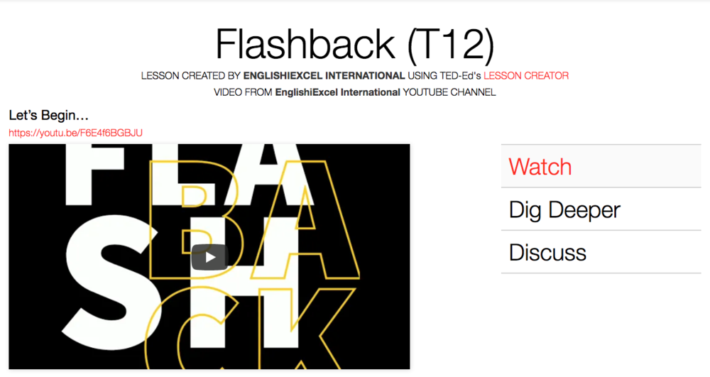 Unit 10: Flashback - https://ed.ted.com/on/2ACLmNUR