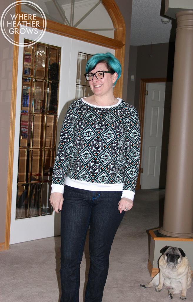 Grainline Studio Linder Sweatshirt