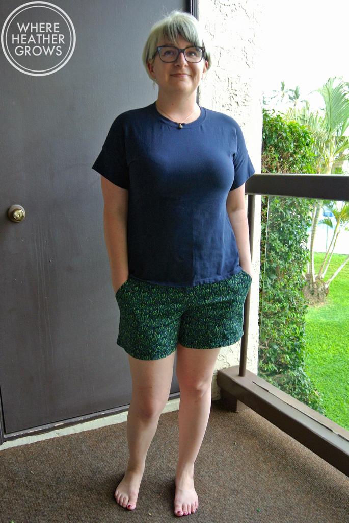Christine Haynes Marianne Tee & Juba Shorts