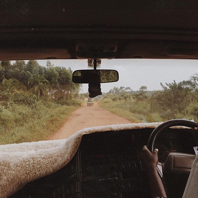 oh how I wish I was singing at the top of my lungs with @mukaawa_john_busta while driving along these bumpy dirt roads 🗺🚙 my heart is missing this place and its people so very much 😢