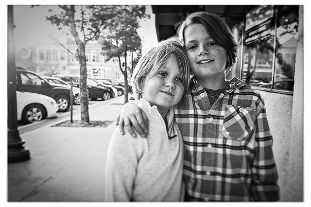 Brothers. #siblings #bwportrait #fayettevillear