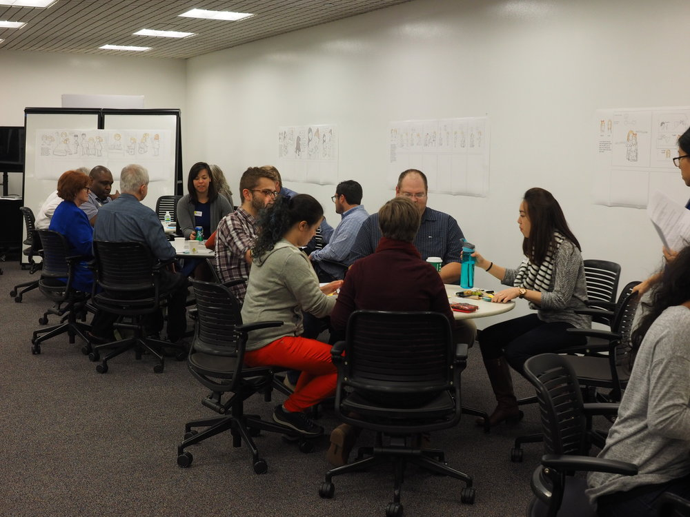 We facilitated a Round Robin exercise for our partners at DHS and other guests.
