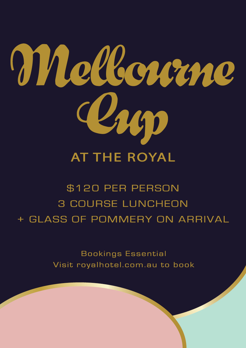 Melbourne Cup at The Royal
