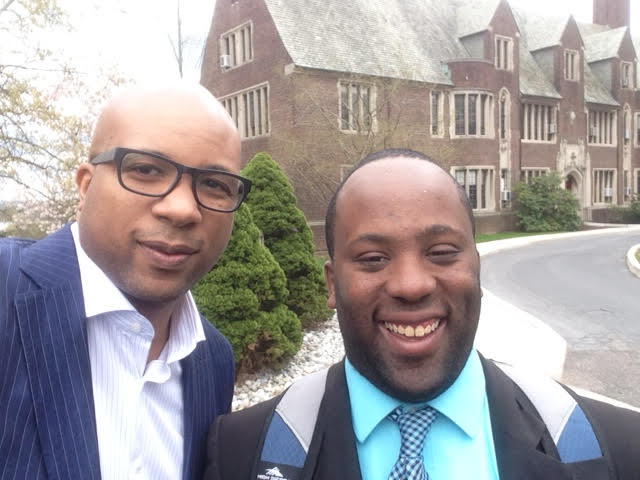 Post Martin Luther King Day keynote with Brandon Jacobs at the Hill School (PA)