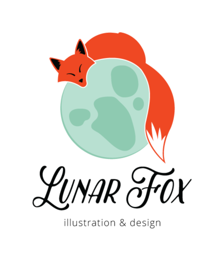 Lunar Fox Illustration & Design