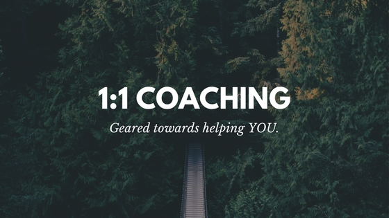 1:1 Coaching is customized so that you are getting everything that you need from each session. Together, we will use mindfulness practices to get you out of mindset of dread and into a lighter, happier place.
