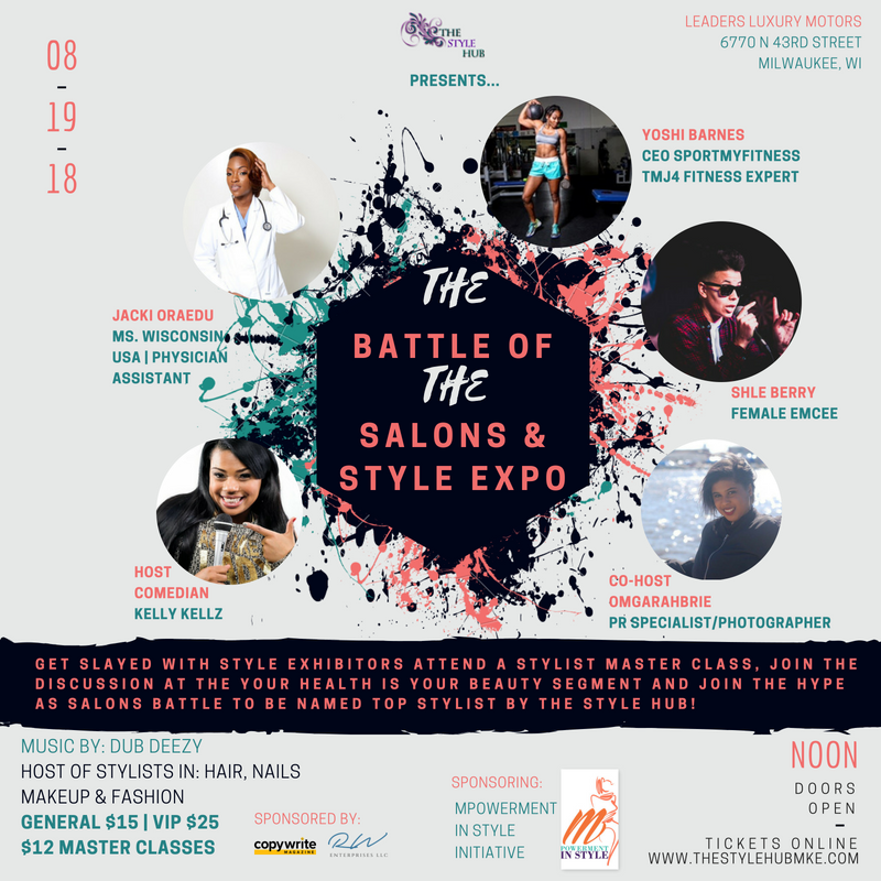 Get Slayed with Style Exhibitors attend a Stylist MAster Class, Join the Discussion at the Your Health is Your beauty Segment and join the hype as Salons Battle to be named Top Stylist By The Style Hub!.png