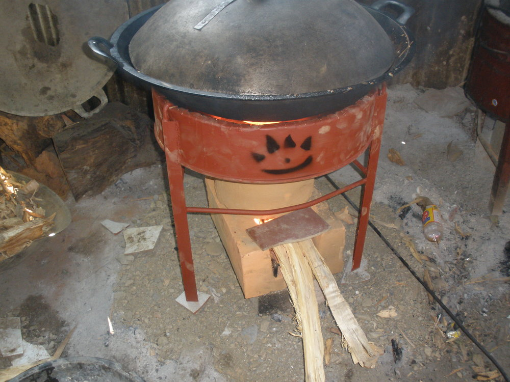Wok stove alight.JPG