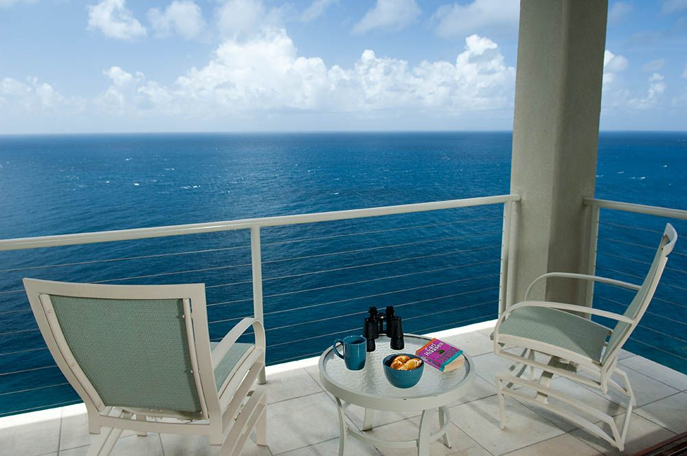 A Corner of Your Main Deck viewing toward St. Croix