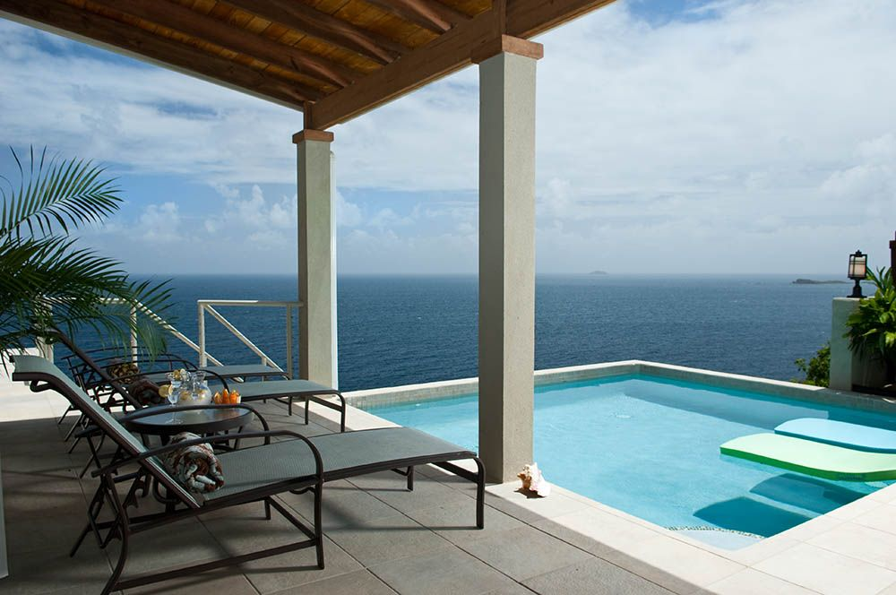 Your pool deck provides amazing and ever changing panarama vistas