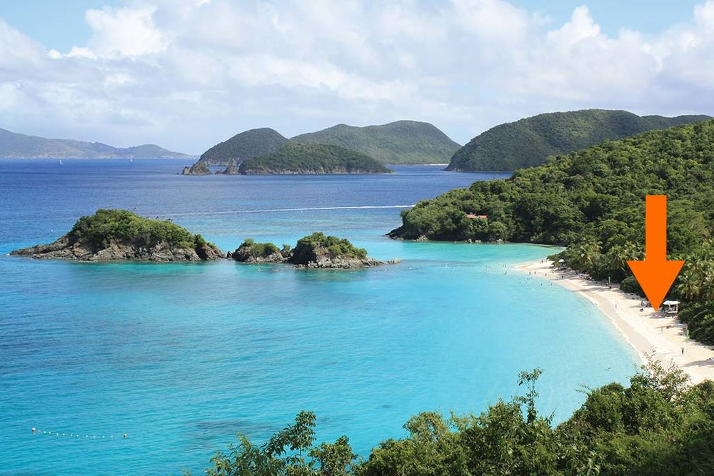 Trunk Bay Beach. Photo © Susanna Henighan Potter.