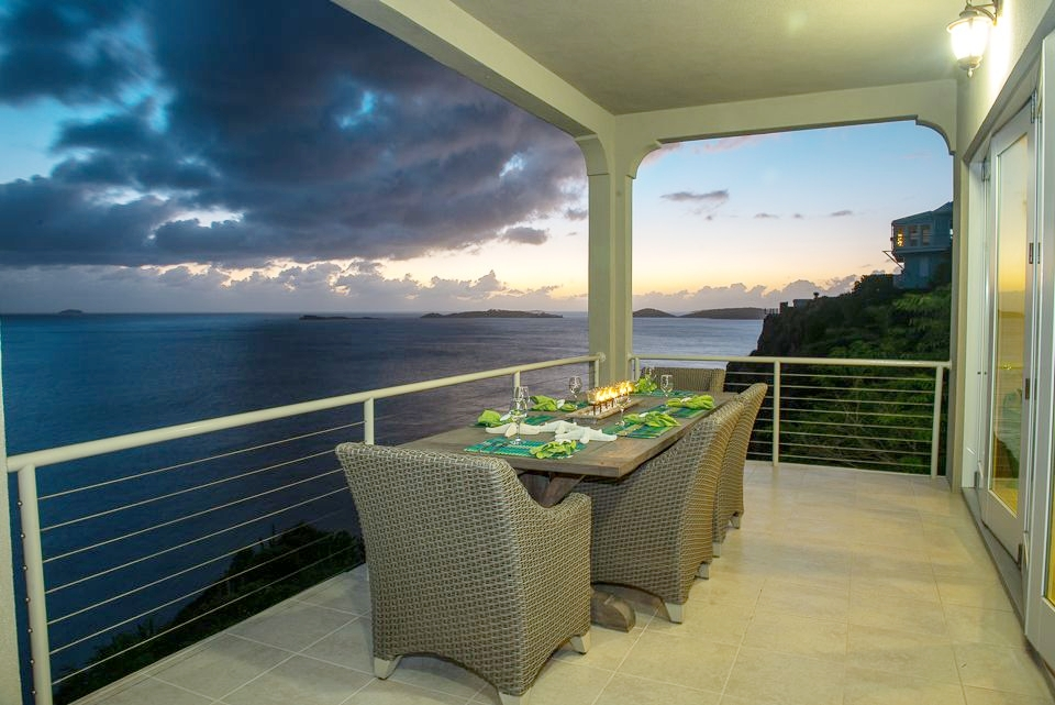 Your pool deck provides amazing and ever changing panorama vistas