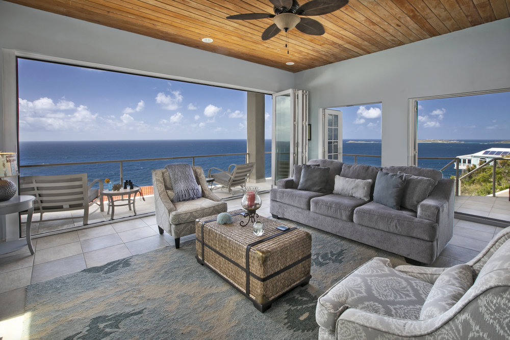 Totally New Living Room With Unobstructed Ocean Views