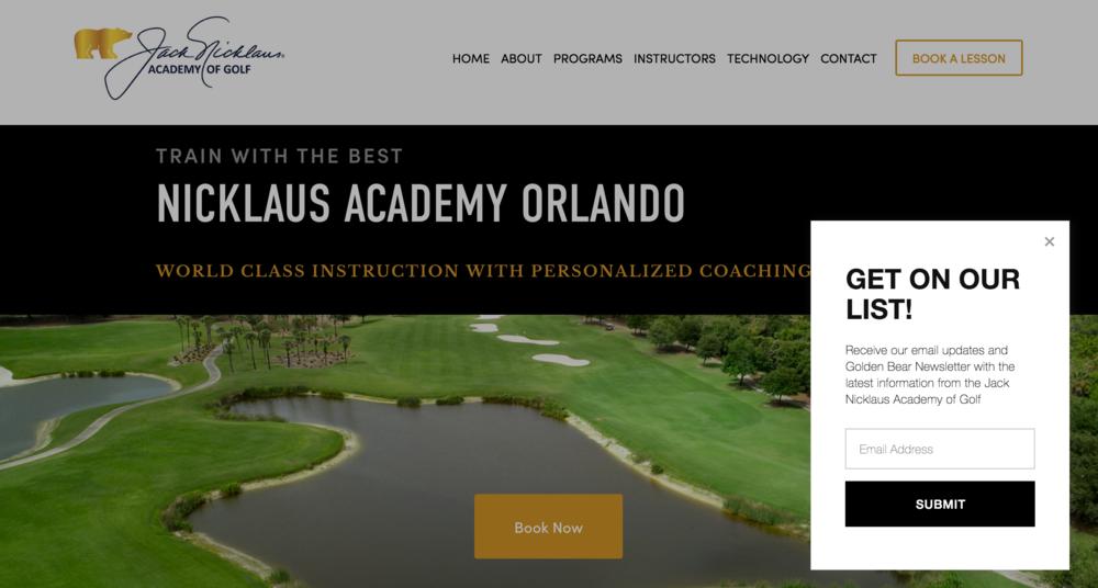 Jack Nicklaus Academy Orlando