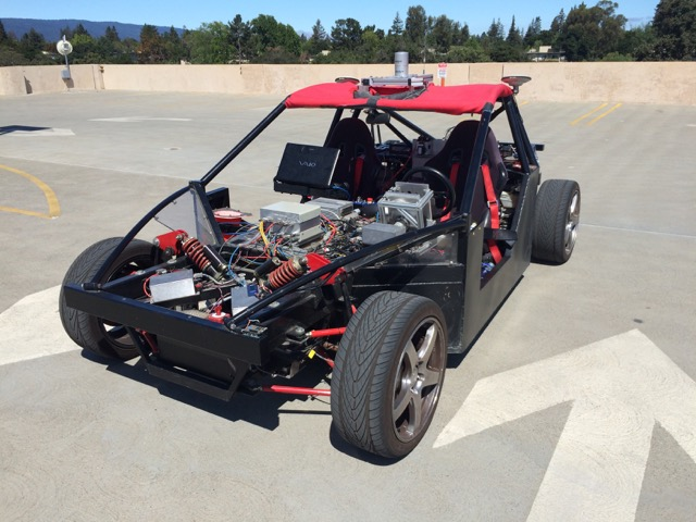 Stanford's X1 vehicle testbed